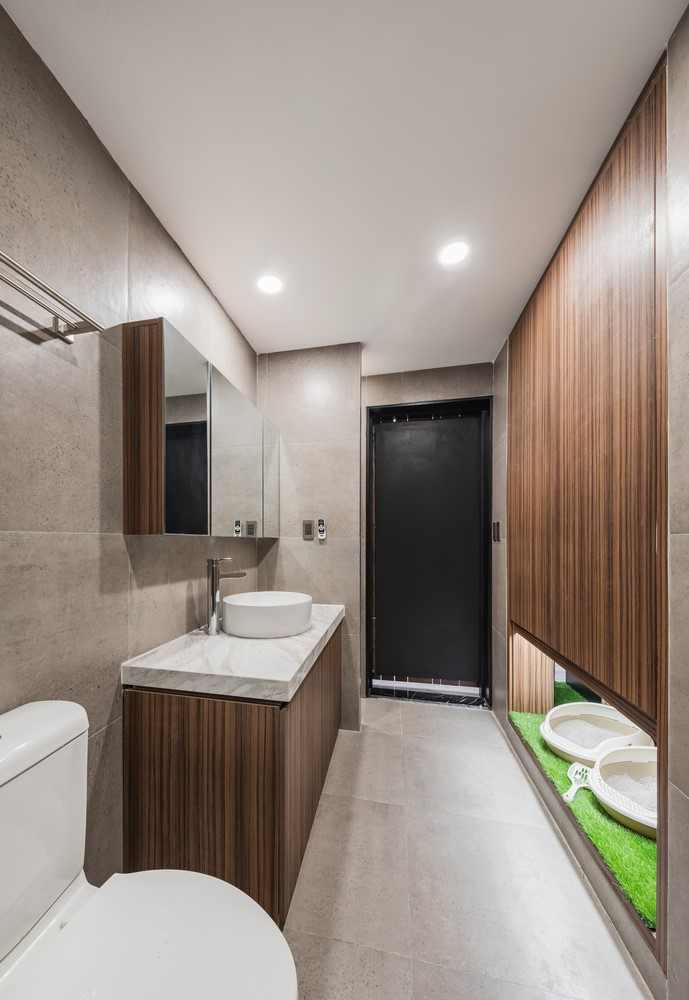 Can ho 110 m2 o Ha Noi lot xac nho thiet ke mo va go cong nghiep hinh anh 9